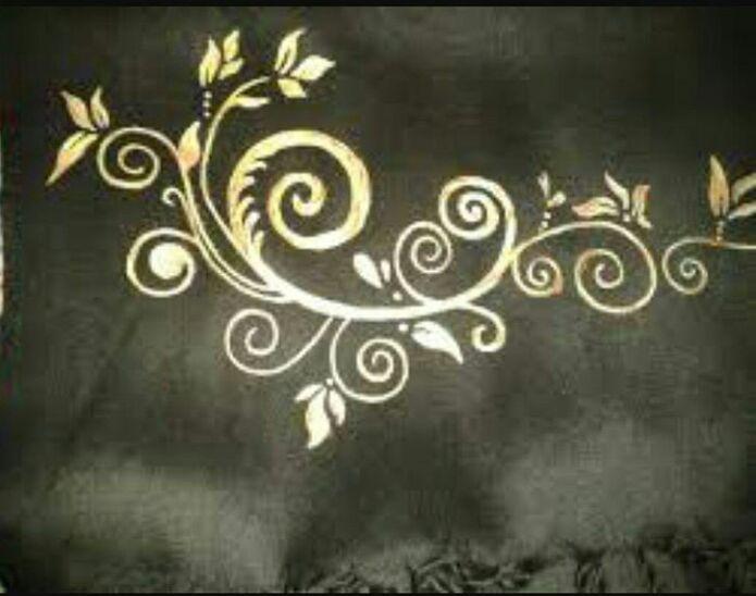 طراحی و نقاشی شال
